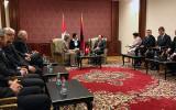 Nationalratspräsidentin Maya Graf zu Besuch in Albanien