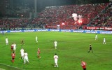 Soccer Game Albania vs. Switzerland on October 11, 2013 in Tirana