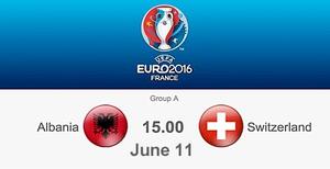 Fussballspiel am 11. Juni 2016