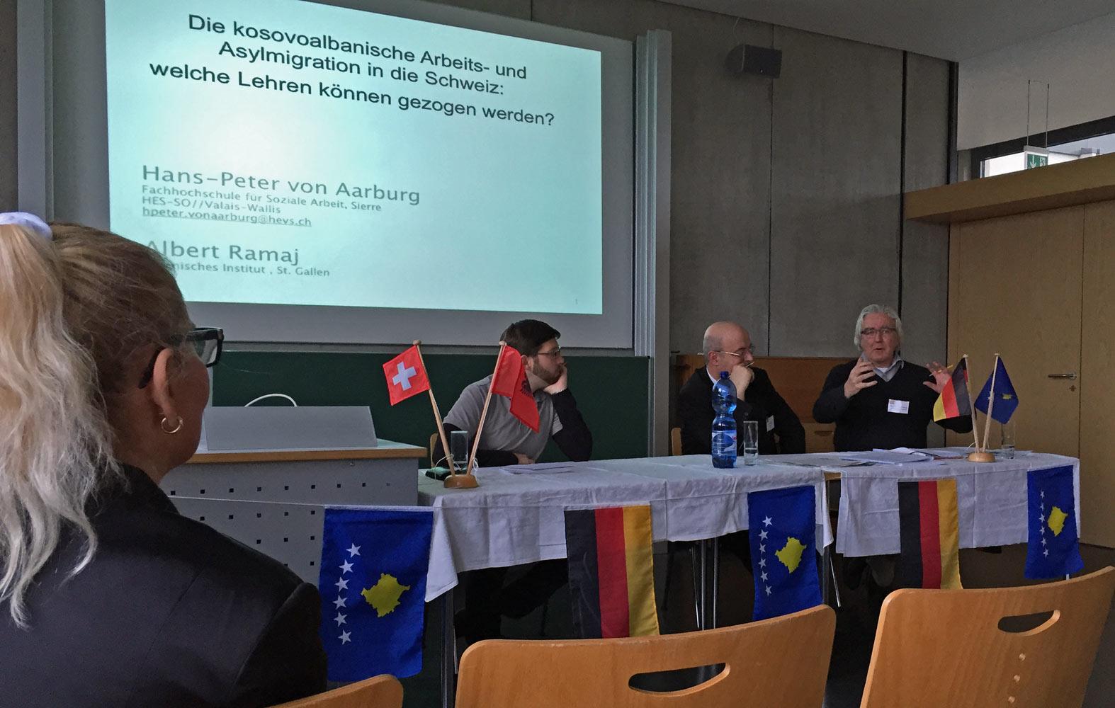 Vortrag Hans-Peter von Aarburg
