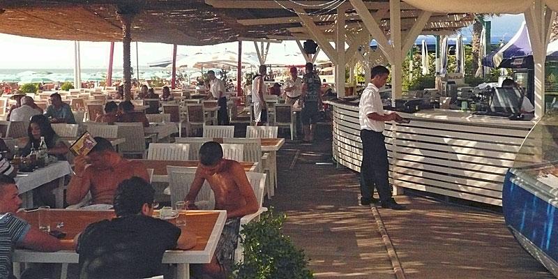 Reisebericht 2008 – Strandbar