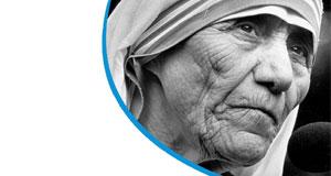 Ausstellung Briefverkehr Mutter Teresa