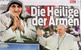 Blick – Mutter Teresas Heiligsprechung