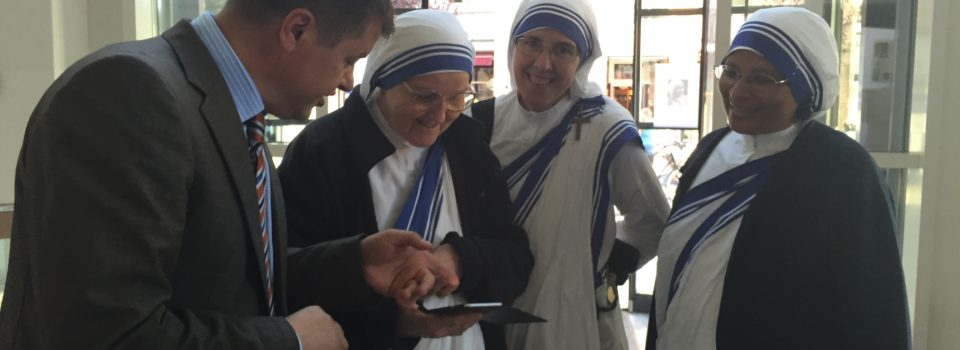 Auf der Suche nach den Spuren von Mutter Teresa in der Schweiz