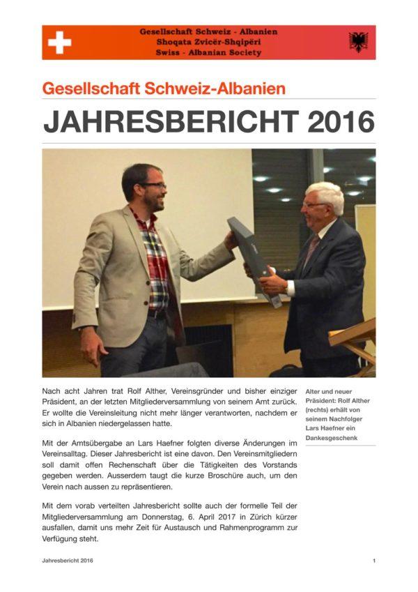 Jahresbericht 2016 PDF