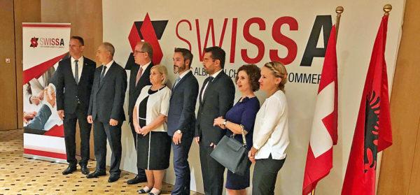 Gründung der Schweizerisch-Albanischen Handelskammer