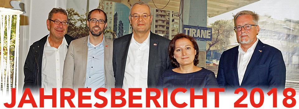 Gesellschaft Schweiz-Albanien: Jahresbericht 2018