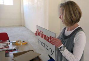 Künzli Factory Albania: Barbara Artmann