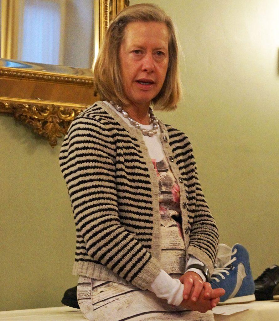 Barbara Artmann, CEO Künzli Schuhe – GV 2019