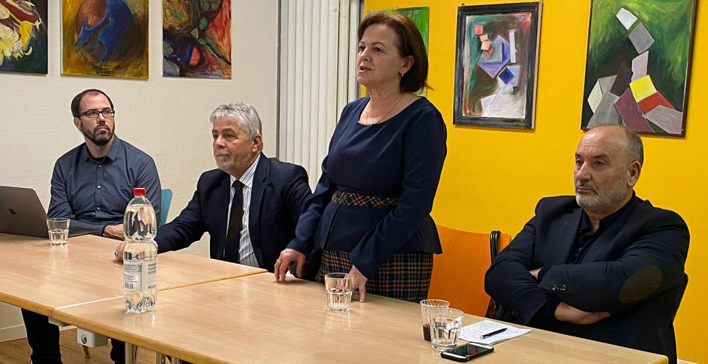 Treffen Bern 1. Februar 2020 zu Hilfe für Albanien