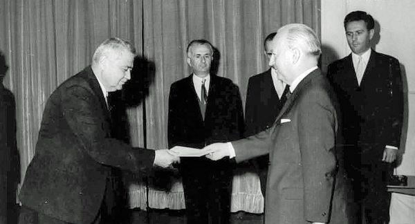 Hans Keller in Tirana 1970